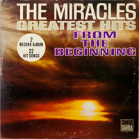 MIRACLES  -  GREATEST HITS FROM THE BEGINNING - march - 1965