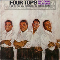 FOUR TOPS  -  SECOND ALBUM - november - 1965