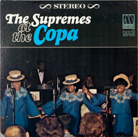SUPREMES  -  AT THE COPA - november - 1965