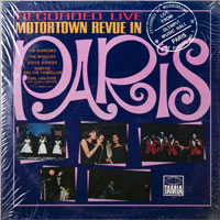 VARIOUS  -  MOTORTOWN REVUE IN PARIS - november - 1965