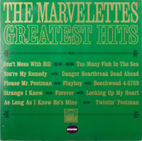 MARVELETTES  -  GREATEST HITS - februari - 1966