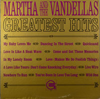 MARTHA & VANDELLAS  -  GREATEST HITS - may - 1966