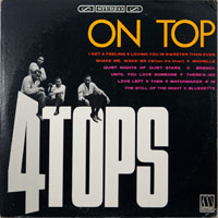 FOUR TOPS  -  ON TOP - august - 1966
