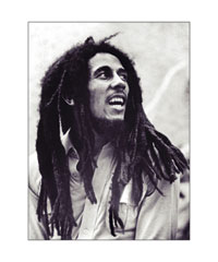 Bob Marley by Boot