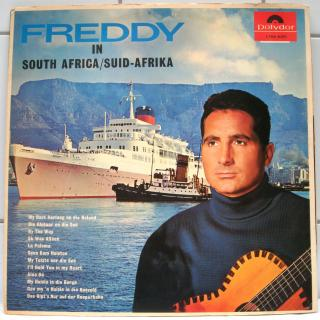 FREDDY QUINN-IN SOUTH AFRICA cover