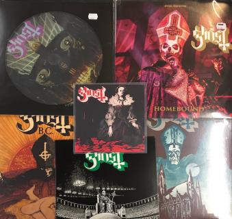 Ghost  Ceremony & Dev.  Hard On -sleeve & other swedish pressings