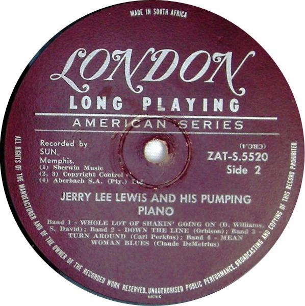 "Jerry Lee Lewis ""And His Pumping Piano"" 