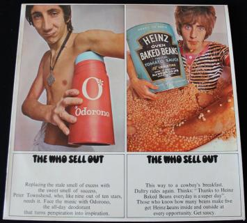 THE WHO SELL OUT   WITH POSTER