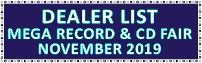 Dealer list Record fair Utrecht